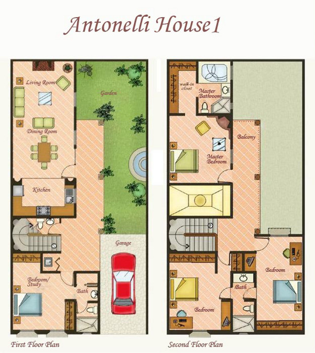 House 1 Floor Plan