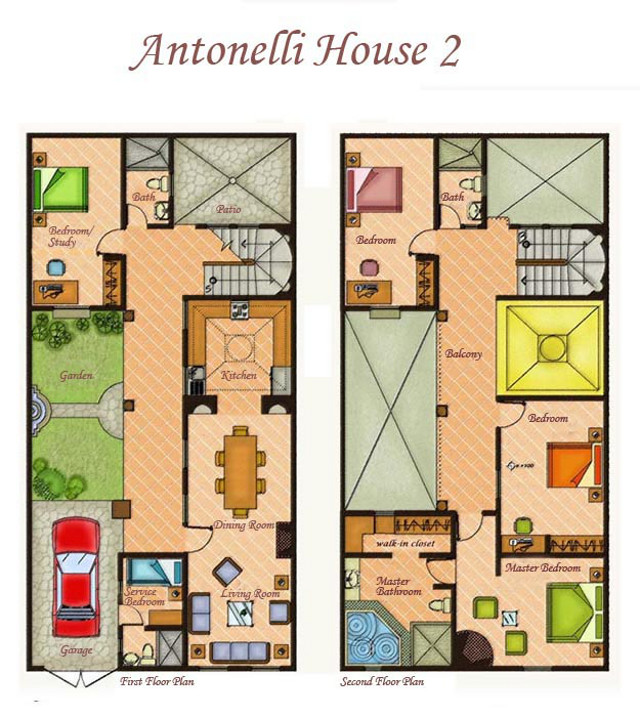 House 2 Floor Plan