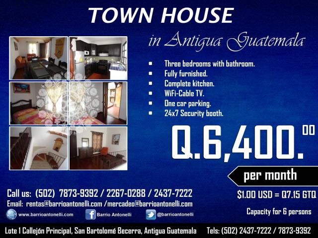 Promotion for Town Houses