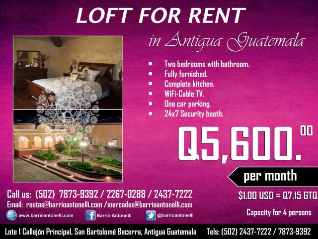 Promotion for Apartments